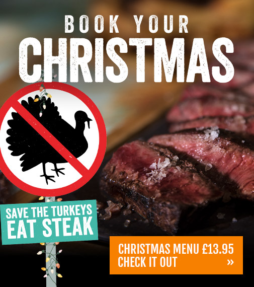 Book your Christmas at Son of Steak