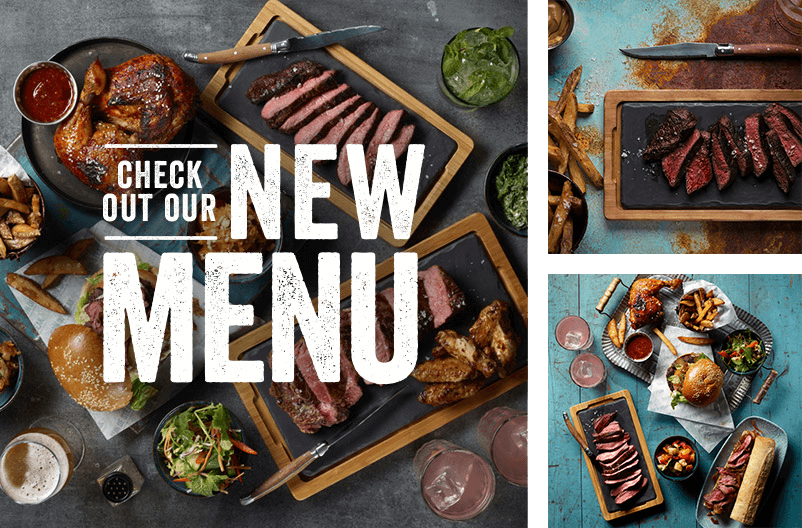 Check out our new menu